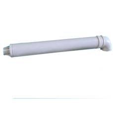 "Комплект коаксиальный для АОГВ ""Polykraft"" d-60/100мм, L- 1 м, с фланцем (KIT11-610-1)*"