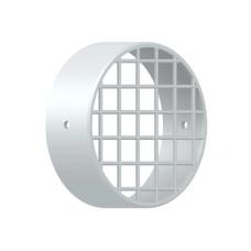 Решетка воздухозабора дымохода раздельного d-80, пластик (01.20.001.008)